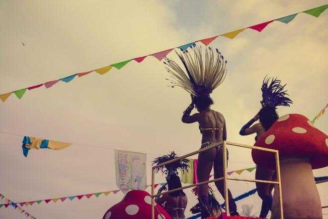 El mejor ambiente carnavalesco de Río de Janeiro