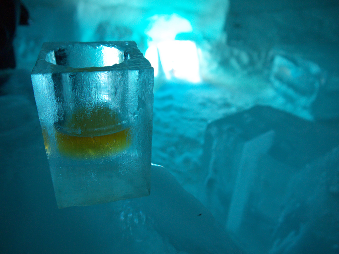 Bar de gelo em Puerto Iguazu, Argentina