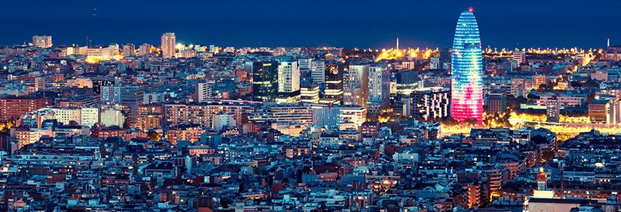 Barcelona de noche