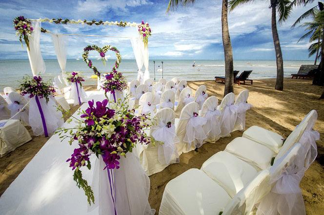Praia para casamento