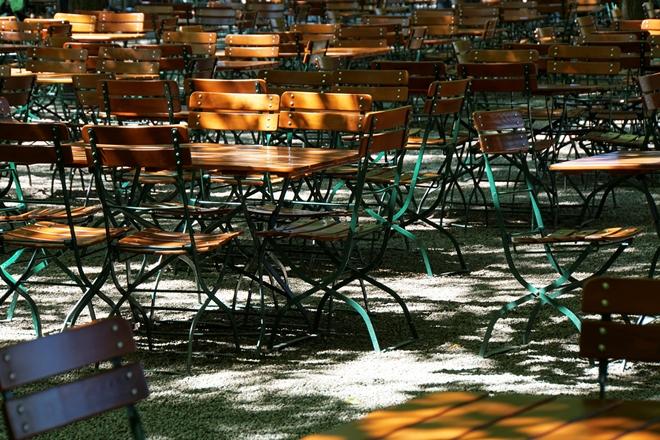 Un Biergarten a Monaco