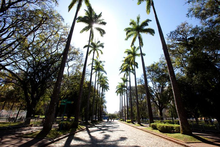 Praça da Liberdade, em Belo Horizonte (Getty Images)