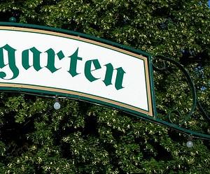 Biergarten a Monaco di Baviera