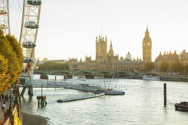 Celebrating Christmas from the extraordinary London Eye