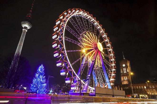 Surplomber Berlin pour Noël