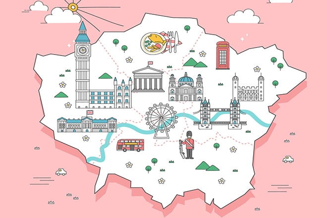 map of main attractions in london Plot Your Sightseeing Tour With A London Attractions Map map of main attractions in london