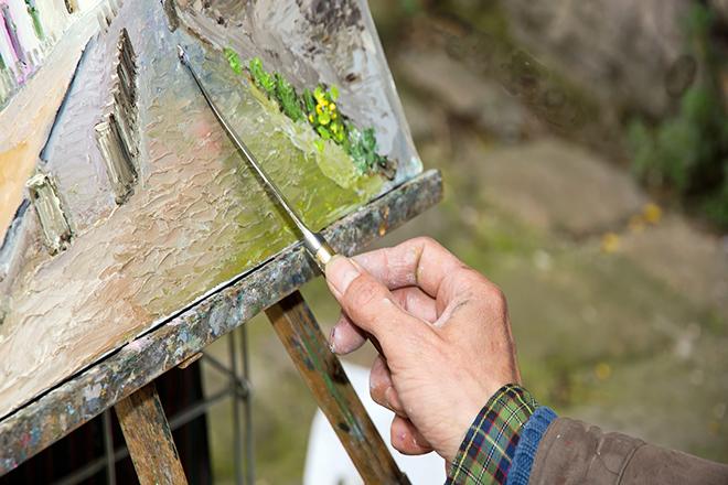 painting montmartre paris