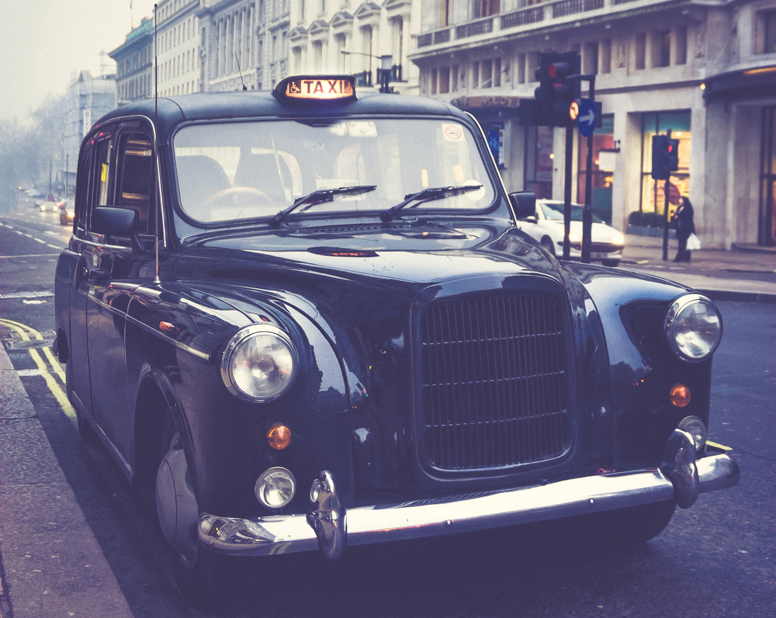tipping london taxi