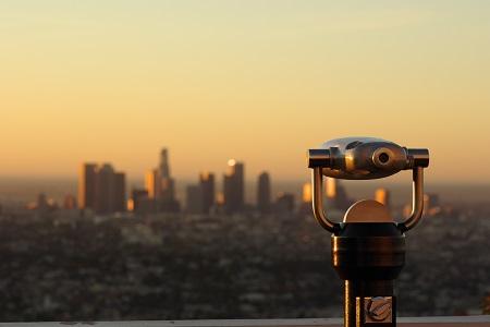 Impresionantes vistas desde Griffith Park