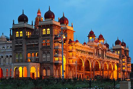 El Palacio de Mysore, en Karnataka