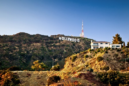 El icónico letrero de Hollywood