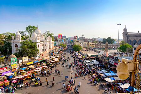 Mecca Masjid, en Hyderabad
