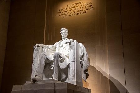 Estatua de Abraham Lincoln