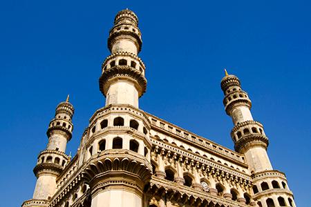 El Charminar, en Hyderabad