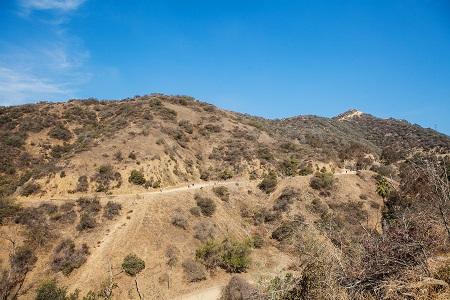 Vista del parque Runyon Canyon