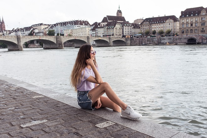 banks of the Rhine Basel
