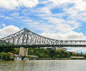 Die Story Bridge besteigen