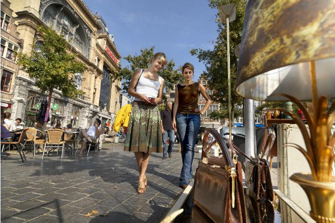brocante markt in Gent