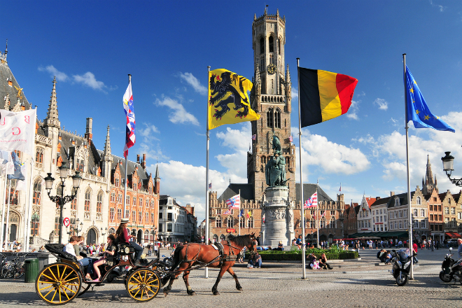 Met de koets door Brugge