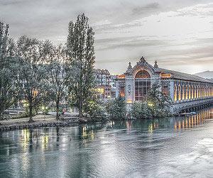 Am kamin sitzen in Genf