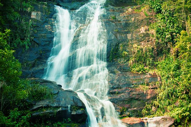 Cachoeira na Floresta da Tijuca (Foto: Getty Images)