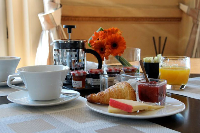 Café da manhã no Sofitel