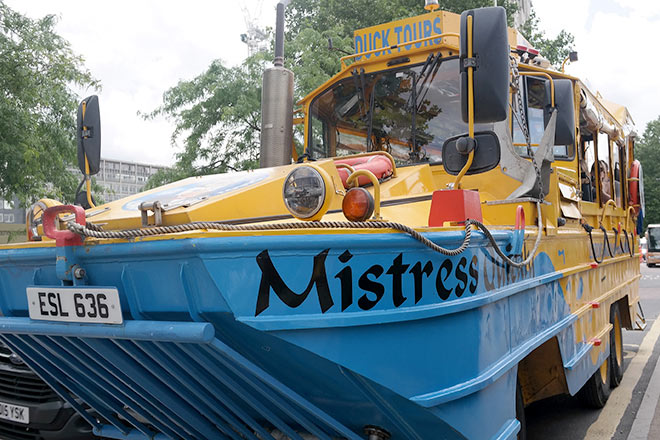 camion london duck tour