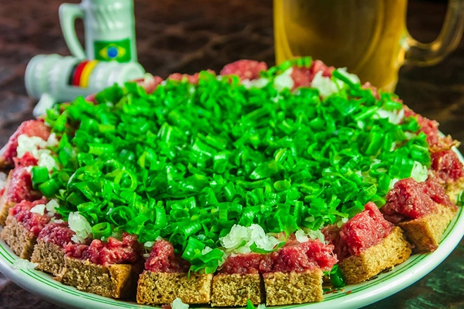 Carne de Onça no Bar do Alemão em Curitiba (Foto: Divulgação/Bar do Alemão)