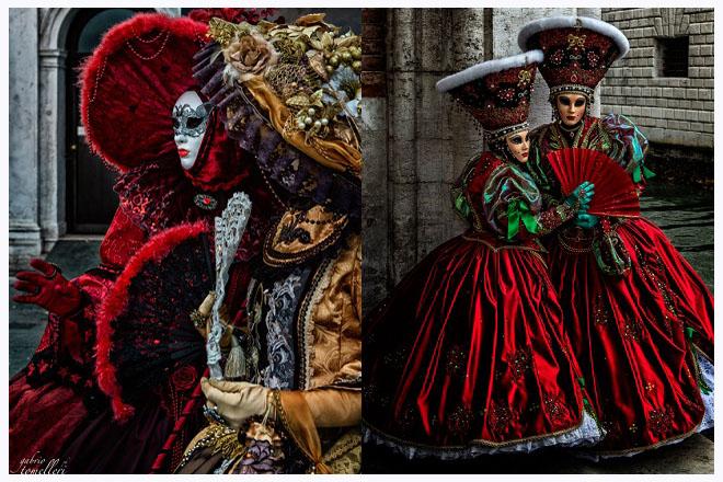 carnevale di venezia maschere in strada