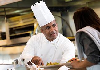 A culinary critic