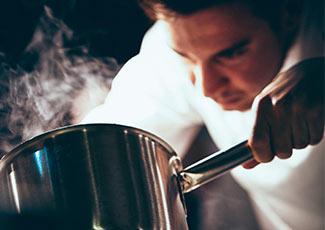 Um excelente chef pâtissier