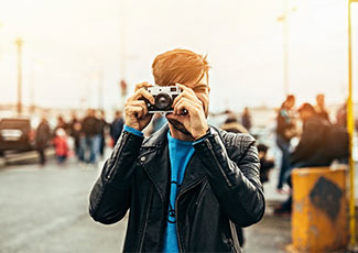 Ein Stadtfotograf