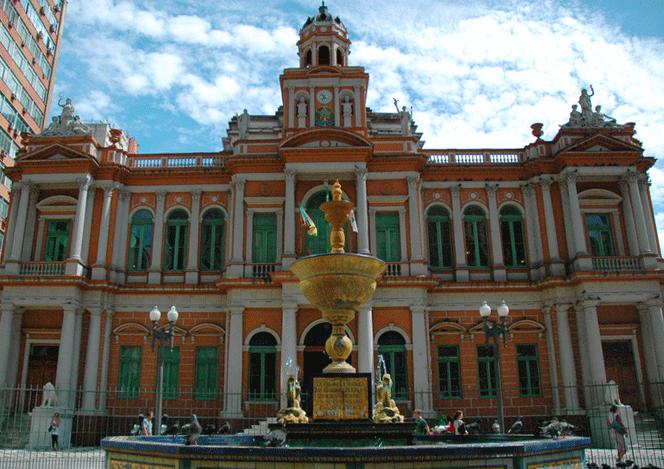 Centro histórico de Porto Alegre