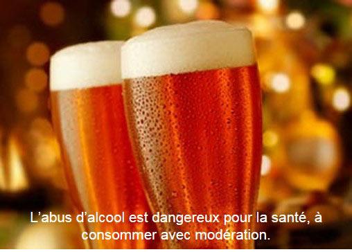 Déguster une bière de Noël