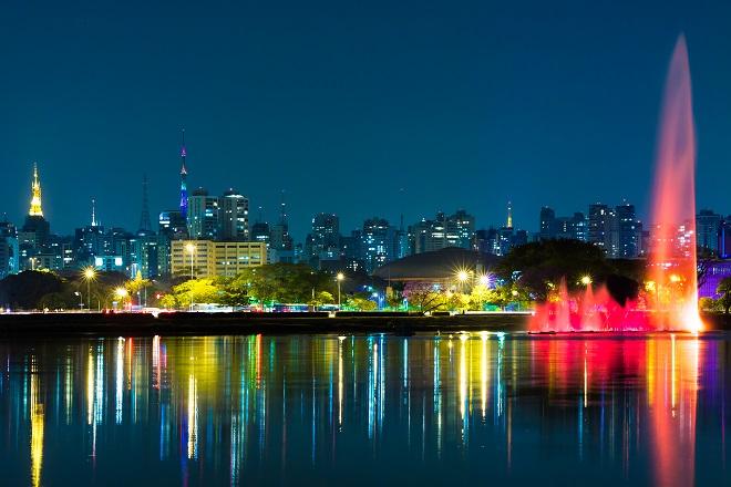 Admirer São Paulo en habit de fêtes