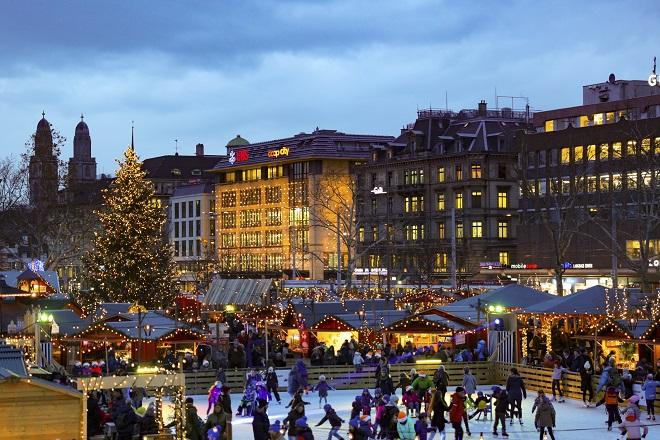 S'inviter sur les marchés de Noël à Zurich