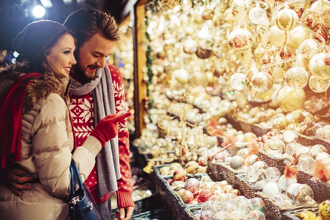 Christmas shopping Swiss-style, in Geneva