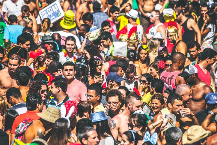 Circuitos no Carnaval de Salvador (Getty Images)
