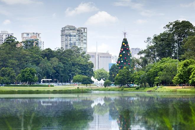 Árvore de Natal do Parque Ibirapuera