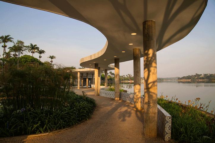 Conjunto Moderno da Pampulha, em Belo Horizonte