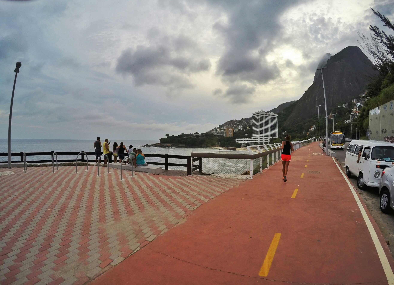 Footing  piste Tim Maia Rio de Janeiro