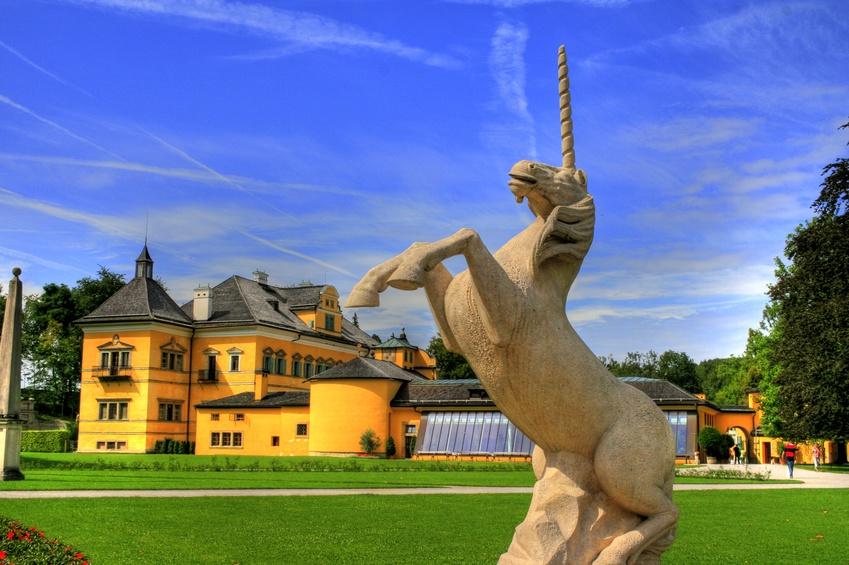 Das Schloss Hellbrunn ist immer sehenswert © XtravaganT / Fotolia