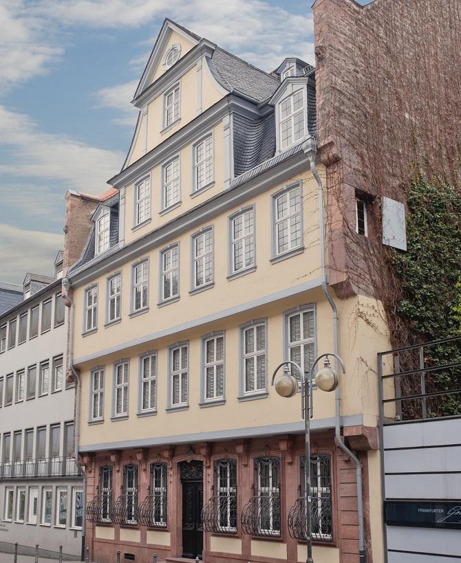 Das Goethe-Haus in Frankfurt