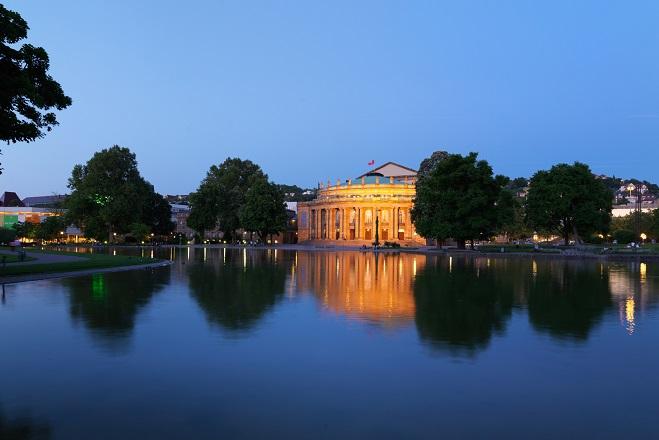 Das Staatstheater Stuttgart