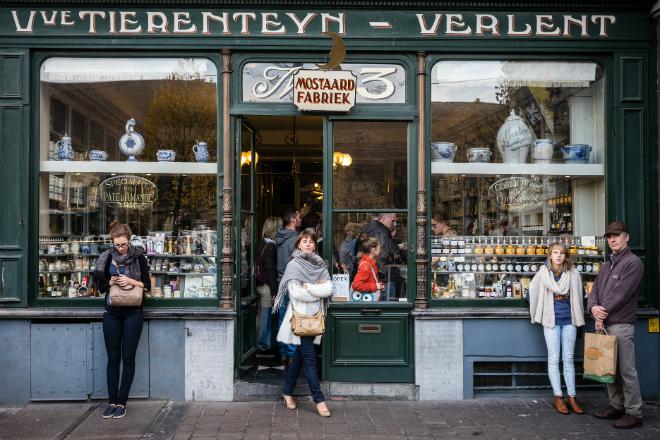 delicatesse winkel in Gent