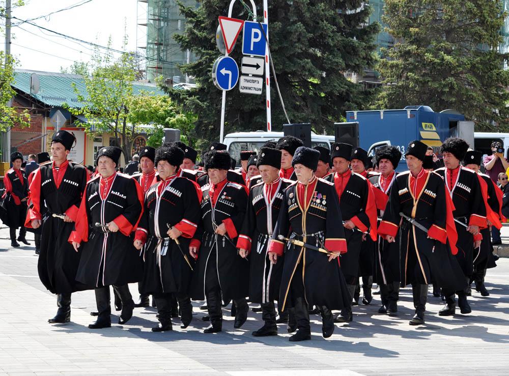 Казацкий парад