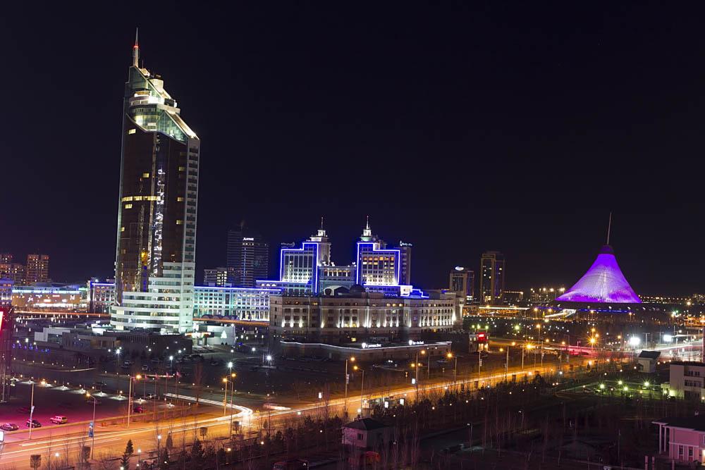 Центр города Астана
