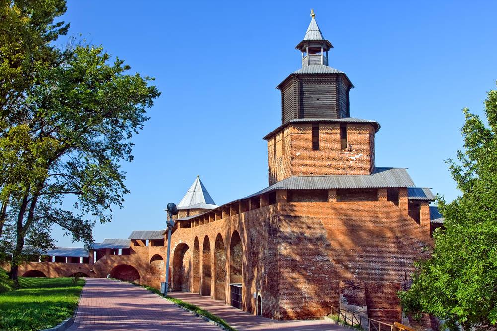 Часовая башня, Нижегородский кремль