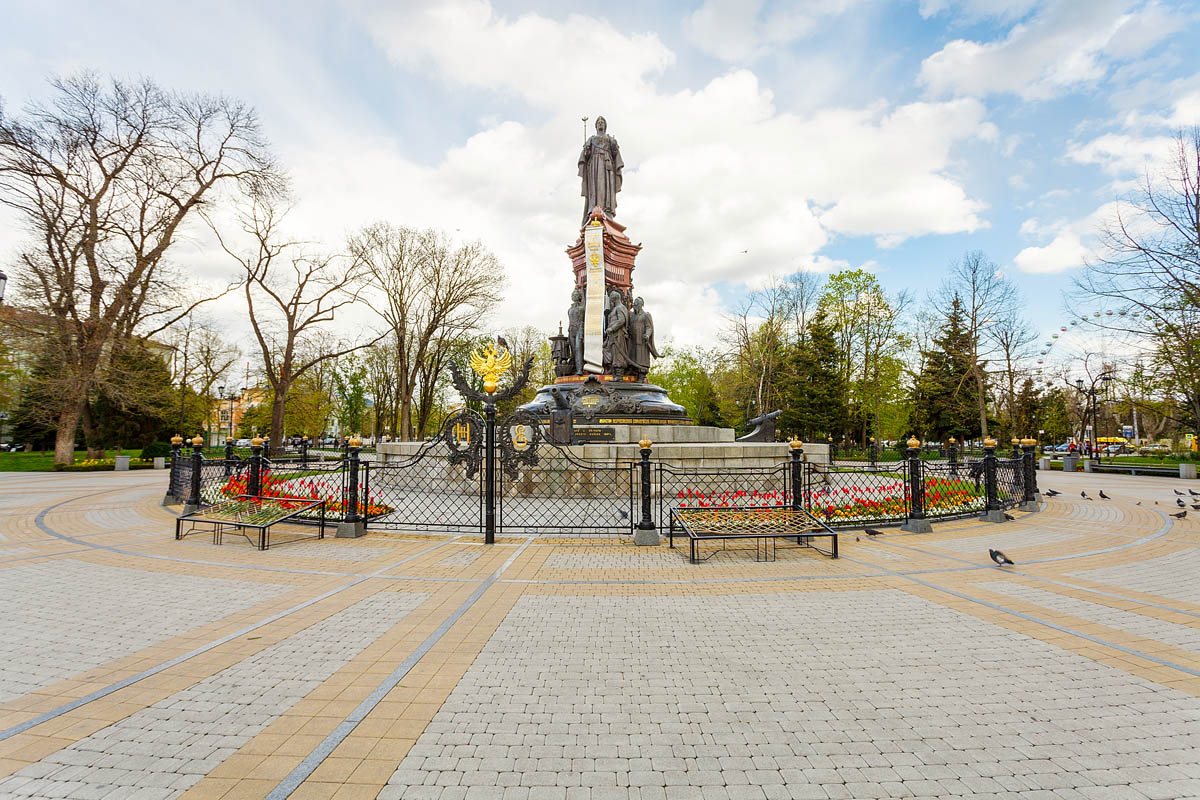 Памятник в Краснодаре