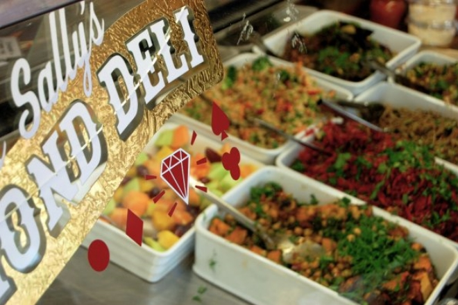 Fresh Salads At Diamond Deli